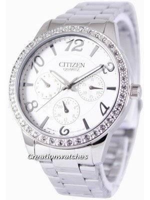 Citizen Quartz Swarovski Crystals ED8120-54A Women's Watch
