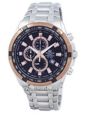Casio Edifice Chronograph Quartz Tachymeter EF-539D-1A5V EF539D-1A5V Men's Watch