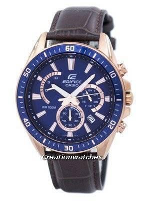 Casio Edifice Chronograph Quartz EFR-552GL-2AV EFR552GL-2AV Men's Watch