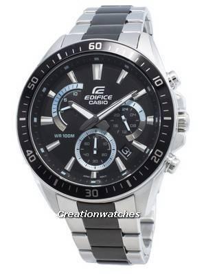 Casio Edifice EFR-552SBK-1AV EFR552SBK-1AV Chronograph Men\'s Watch