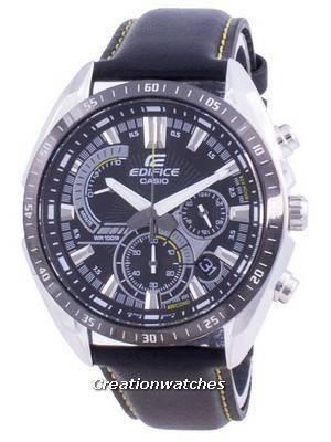 Casio Edifice Chronograph Quartz EFR-570BL-1A EFR570BL-1A 100M Men\'s Watch