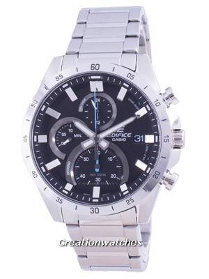 Casio Edifice Standard Chronograph Quartz EFR-571D-1A EFR571D-1 100M Men\'s Watch
