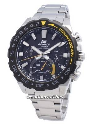 Casio Edifice EFS-S550DB-1AV EFSS550DB-1AV Chronograph Solar Men's Watch