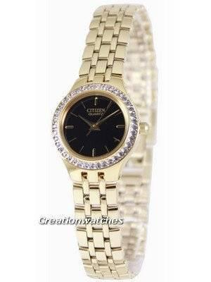 Citizen Quartz Swarovski Collection EJ6042-56E Women's Watch