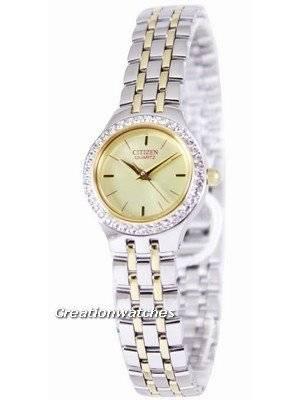 Citizen Quartz Swarovski Collection EJ6044-51P Women's Watch