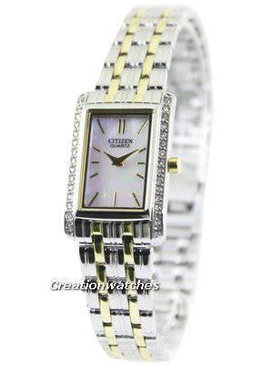 Citizen Quartz Swarovski Crystals EK1124-54D Women's Watch