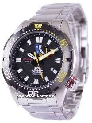 Orient M-Force Automatic Power Reserve 200M EL0A001B Men's Watch
