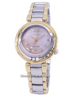 Citizen L Sunrise Eco-Drive Diamond Accent EM0324-58D Women's Watch