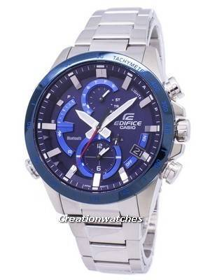Casio Edifice Bluetooth Tough Solar Dual Time EQB-900DB-2A EQB900DB-2A Men\'s Watch