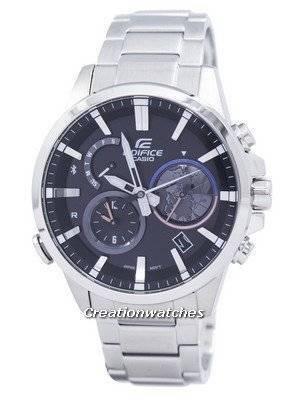 Casio Edifice Smartphone Link Dual Time Analog EQB-600D-1A EQB600D-1A Men\'s Watch