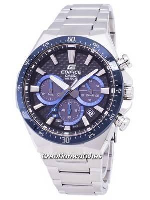 Casio Edifice Solar Chronograph EQS-800CDB-1BV EQS800CDB-1BV Men's Watch