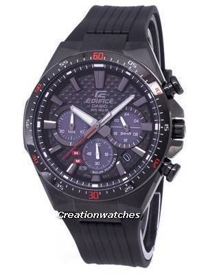 Casio Edifice Solar Chronograph EQS-800CPB-1AV EQS800CPB-1AV Men's Watch