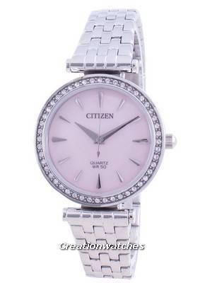 Citizen Elegance Diamond Accents Quartz ER0210-55Y Women\'s Watch