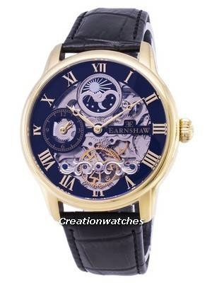Thomas Earnshaw Longitude Sun And Moon Automatic ES-8006-05 Men's Watch