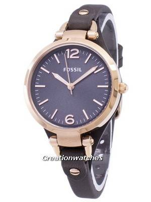 Fossil Georgia Grey Dial ES3077 Women's Watch