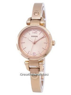 Fossil Georgia Mini Rose-Tone ES3268 Women's Watch