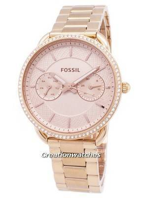 Fossil Tailor Multifunction Quartz Diamond Accents ES4264 Women's Watch