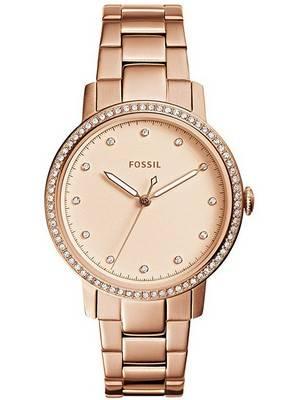 Fossil Neely Quartz Diamond Accent ES4288 Women\'s Watch