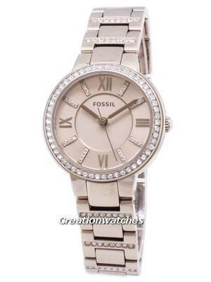 Fossil Virginia ES4482 Diamond Accents Quartz Women\'s Watch