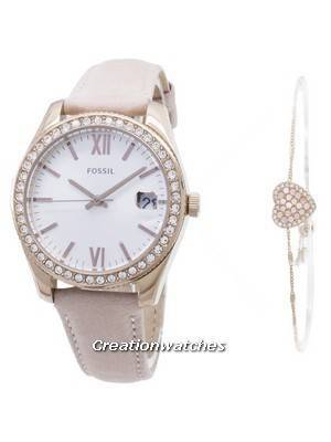 Fossil Scarlette Quartz ES4607SET Diamond Accent Women's Watch