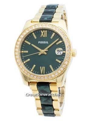 Fossil Scarlette Mini ES4676 Diamond Accents Quartz Women\'s Watch