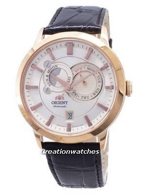 Orient Automatic Sun Moon Phases ET0P001W Men's Watch
