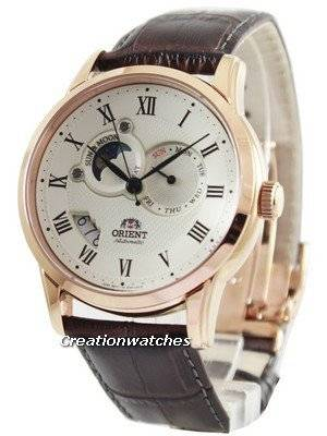 Orient Automatic Sun And Moon Collection FET0T001W0 ET0T001W Men's Watch