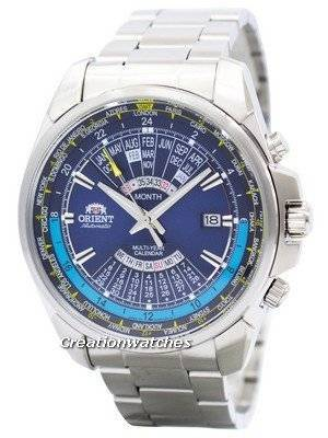 Orient Automatic Multi Year Calendar World Time EU0B002D Men's Watch