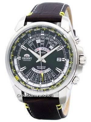 Orient Automatic Multi Year Calendar World Time EU0B003F Men's Watch