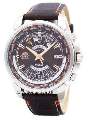Orient Automatic Multi Year Calendar World Time EU0B004T Men's Watch