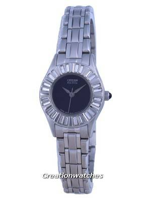 Citizen Eco Drive Ladies Crystal Collection Watch EW5375-57E