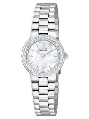 Citizen Eco-Drive Swarovski Crystals EW9820-54D Womens Watch
