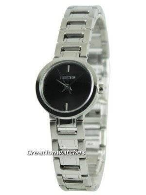 Citizen Quartz Black Dial EX0330-56E Women\'s Watch