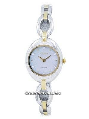 Citizen Eco-Drive Silhouette Diamond Accent EX1434-55D Women's Watch