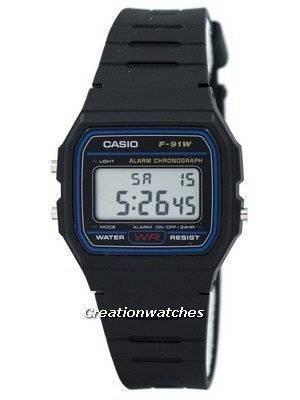 Casio Classic F-91W-1SDG F91W-1SDG Chronograph Men's Watch