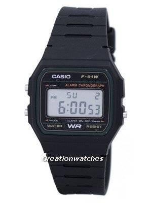 Casio Classic Sports Chronograph Alarm F-91W-3SDG F91W-3SDG Men's Watch