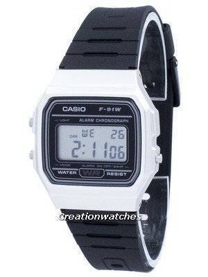 Casio Vintage Chronograph Alarm Digital F-91WM-7A F91WM-7A Unisex Watch