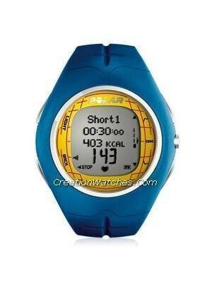 Polar Fitness Heart Rate Monitor Watch F11M F11 Blue Gold