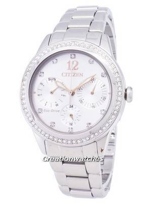 Citizen Eco-Drive FD2010-58A Diamond Accents Analog Women's Watch