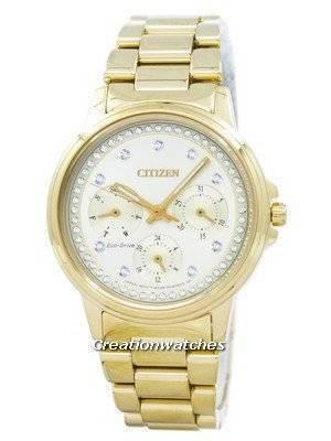 Citizen Eco-Drive Silhouette Crystal FD2042-51P Women's Watch