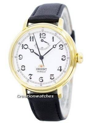 Oriente Monarch Mecânica Poder Reserva DD03001W FDD03001W Men Watch