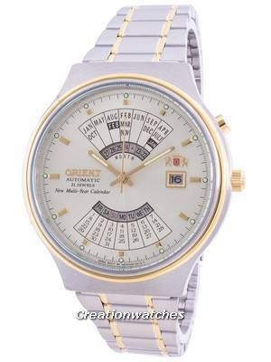 Orient Mechanical Contemporary FEU00000CW Multi-Year Calendar Men\'s Watch