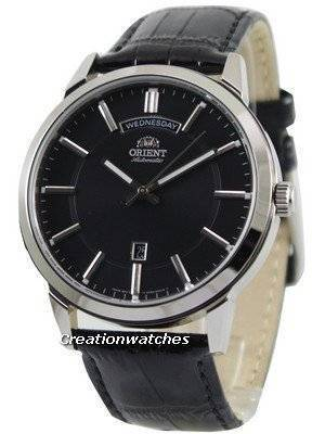 Orient Classic Automatic Black Dial FEV0U003B Men's Watch