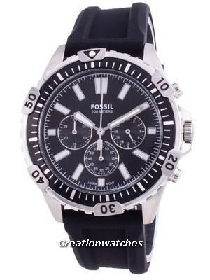 Fossil Garrett FS5624 Quartz Chronograph Men\'s Watch