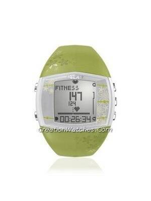 Polar Fitness Training Heart Rate Monitor Watch FT40F FT40 Green