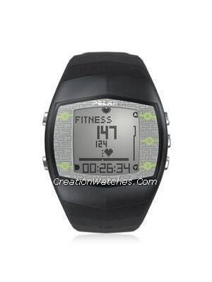 Polar Fitness Training Heart Rate Monitor Watch FT40M FT40 Grey