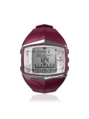 Polar Fitness Training Heart Rate Monitor Watch FT60F Purple