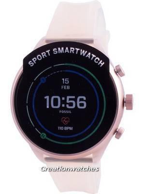 Fossil Venture HR Gen 4 FTW6056 Pink Women\'s Smartwatch