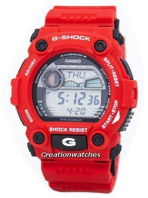 Casio G-Shock G-Rescue Moon Tide G-7900A-4C G7900A-4C Men\'s Watch