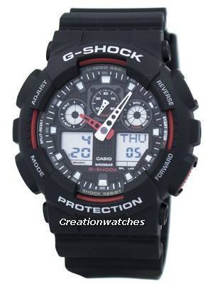 Casio G-Shock Velocity Indicator GA-100-1A4 GA100-1A4 Men's Watch